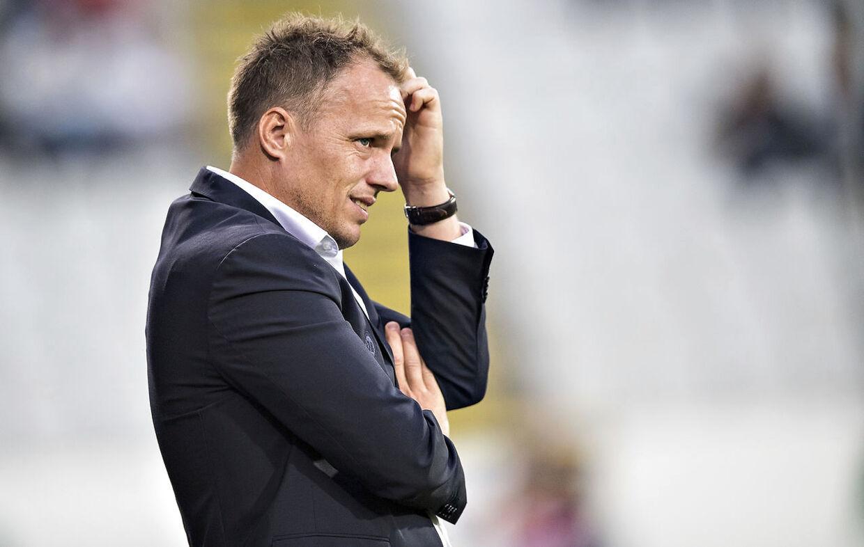 OB-træner Jakob Michelsen. (Foto: Claus Fisker/Ritzau Scanpix)