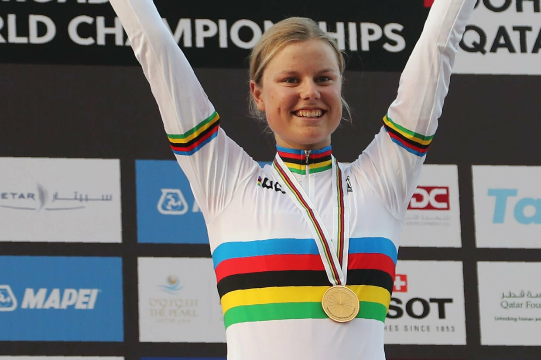 Amalie Dideriksen blev verdensmester i 2016. Karim Jaafar/Ritzau Scanpix