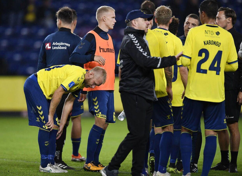 Brøndby blev torsdag slået ud af Europa Leagues playoff-runde med sammenlagt 4-9 i målscore. Overmanden var belgiske Genk.