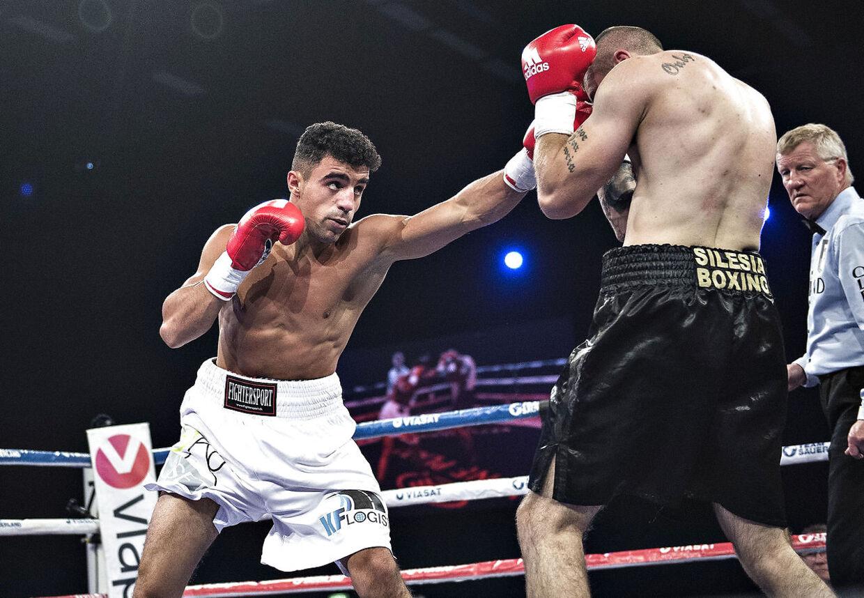 Abdul Khattab er en af de boksere, som savner kampe og en ny kontrakt. (foto: Henning Bagger / Scanpix 2016)