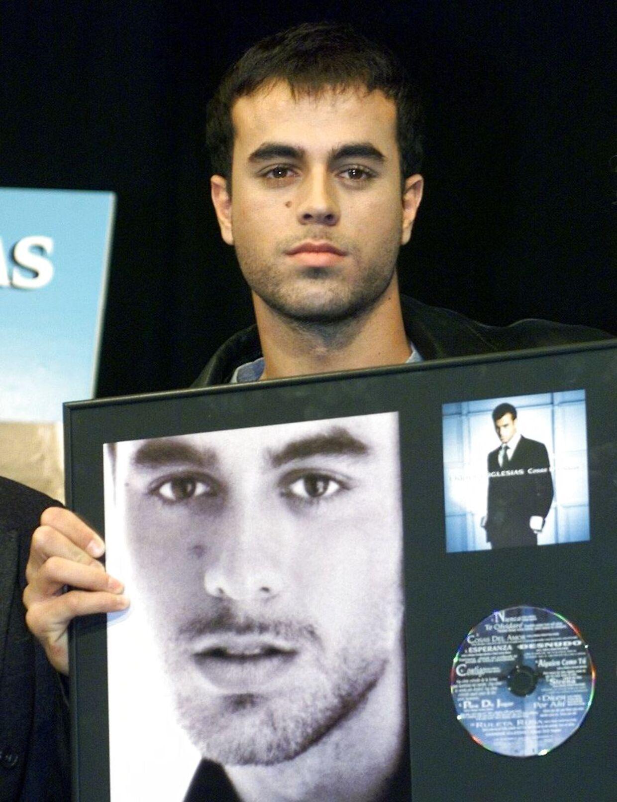 Enrique Iglesias, søn af Julio.