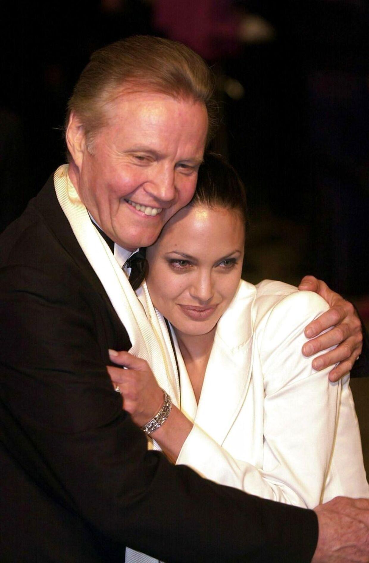 Angelina Jolie og faderen, Jon Voight.