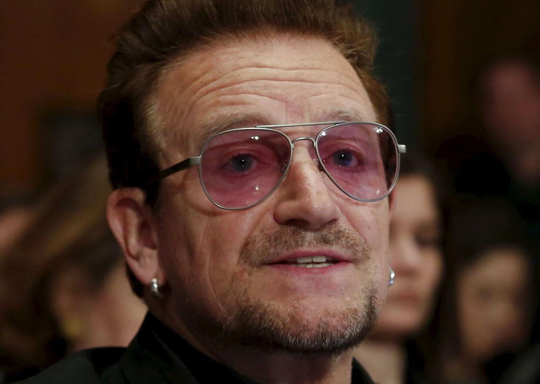 'Bono'. Billedet her er fra 12. april 2016.