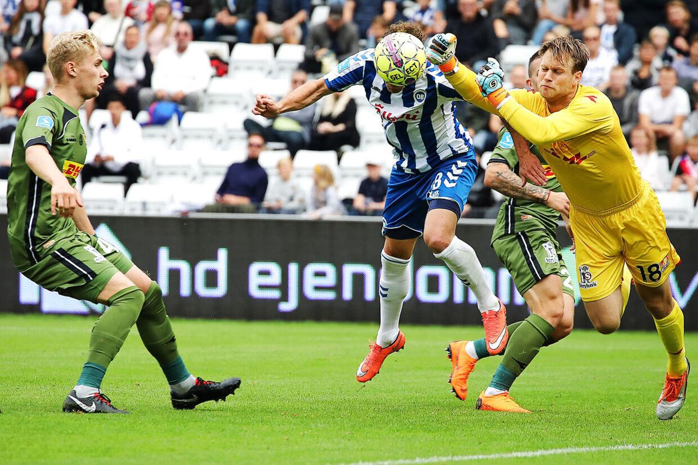 OB tager hjemme imod FC Nordsjælland. Anders K. Jacobsen og Nicolai Larsen. Odense, søndag d. 2/9 2018.