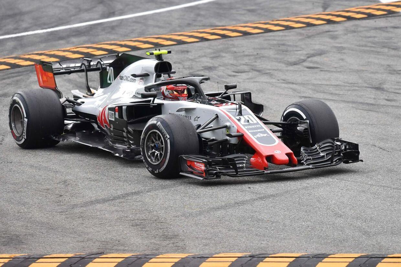 Kevin Magnussen havde en dårlig dag på Monza. (Foto Andrej Isakovic / AFP)