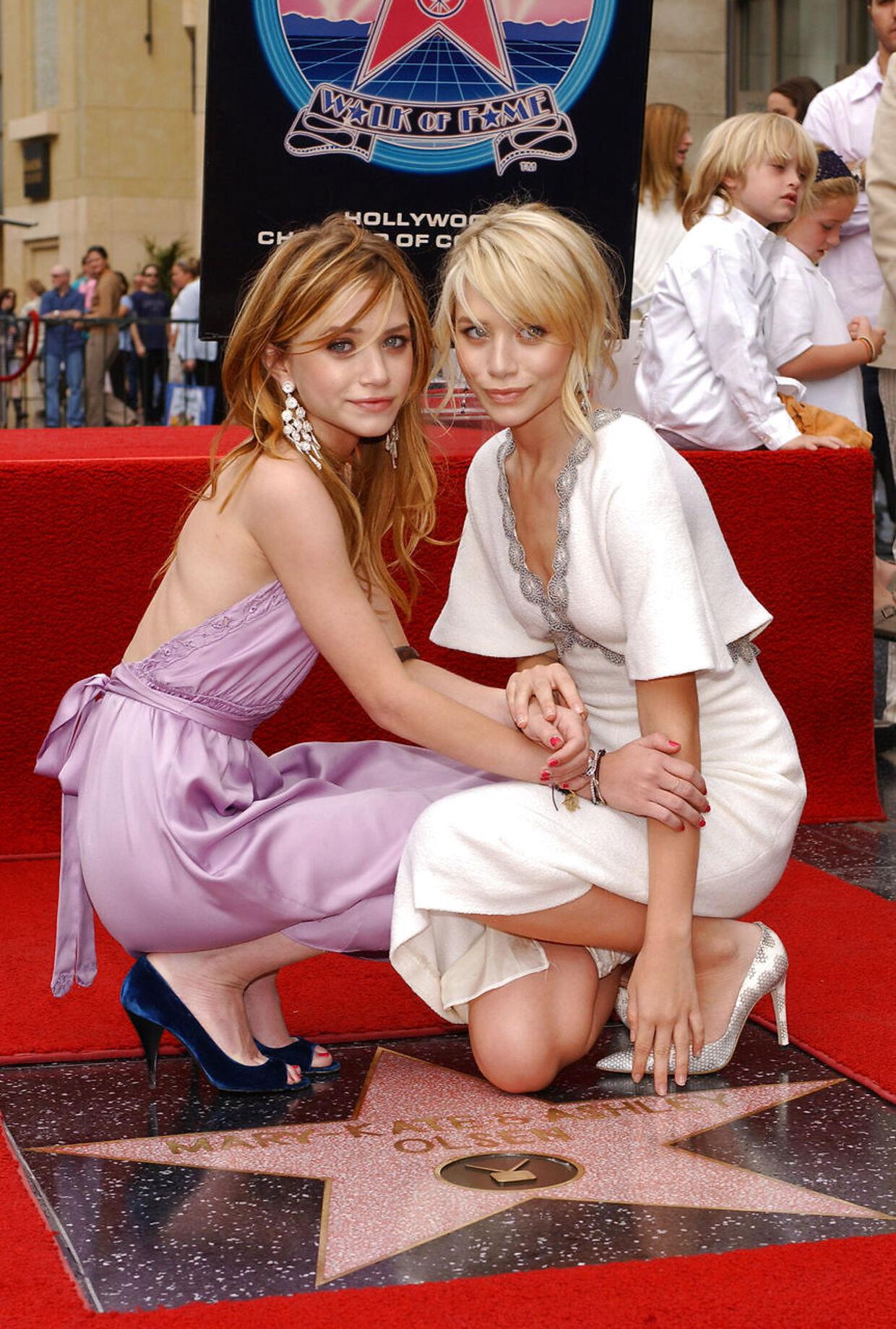 Mary-Kate og Ashley Olsen. (Vince Bucci/Getty Images/AFP)