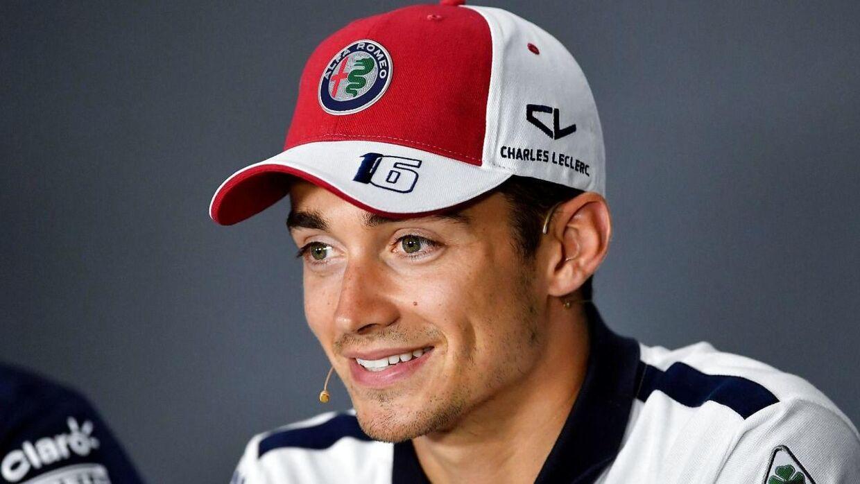 Charles Leclerc bliver angiveligt Ferrari-kører i 2019. (Photo by ANDREJ ISAKOVIC / AFP)