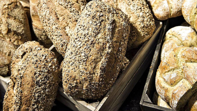 Brød fra luksusbagerier som Lagkagehuset, Meyers og Emmerys indeholder mere salt end billigt supermarkedsbrød, viser en ny undersøgelse. Arkivfoto.
