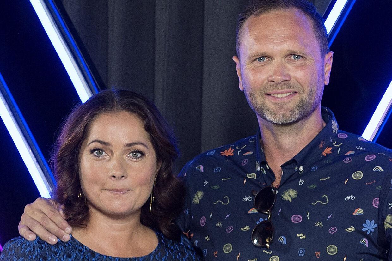 Lars Christiansen, der danser med Sofie Kruuse, danner privat par med Christina Roslyng, som vandt Vild med dans i 2006. Liselotte Sabroe/Ritzau Scanpix