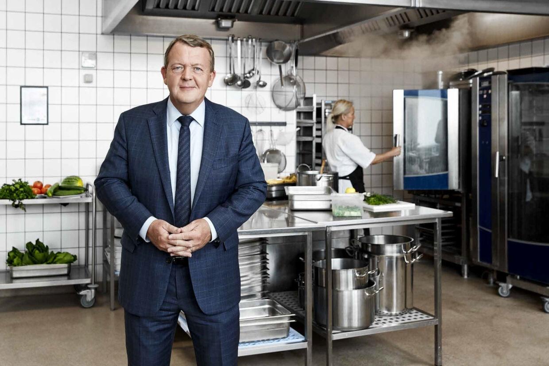 Venstres formand, statsminister Lars Løkke Rasmussen, er frontfigur i en ny Venstre-kampagne. Venstre/Free