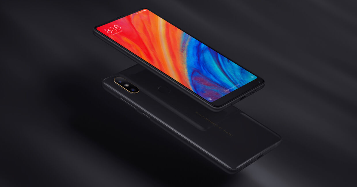 Xiaomis dyreste model, Mi MIX 2S.