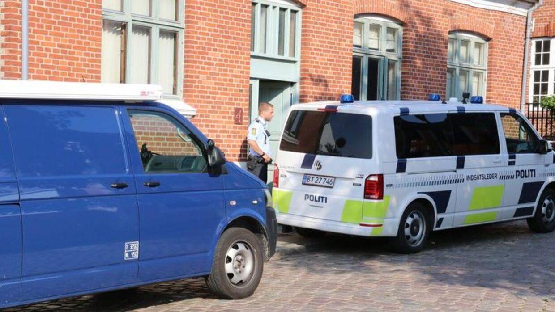 En 71-årig er fundet død i sit hjem i Ebeltoft. Foto: Per Øxenholt