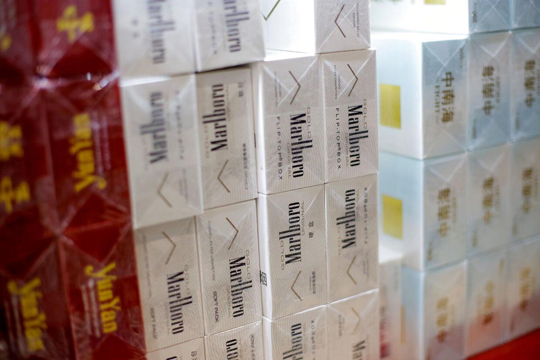 Marlboro er et af de mest kendte cigaretmærker i verden.