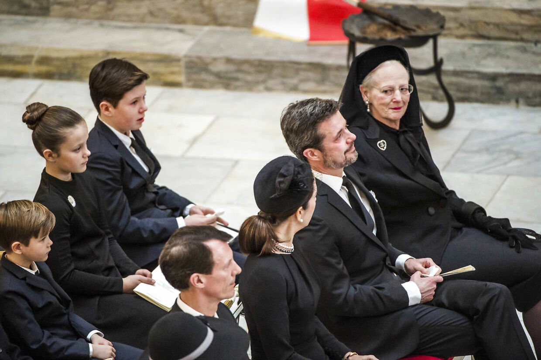 Hans Kongelige Højhed Prins Henrik bliver bisat fra Christiansborg Slotskirke.