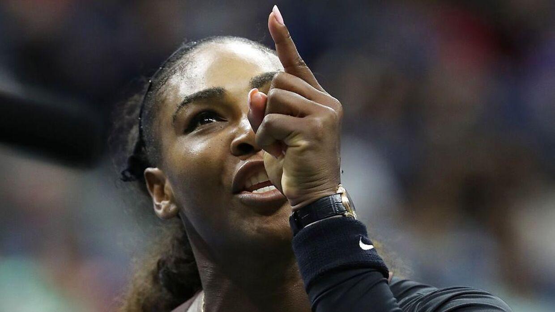 Serena Williams var rasende.