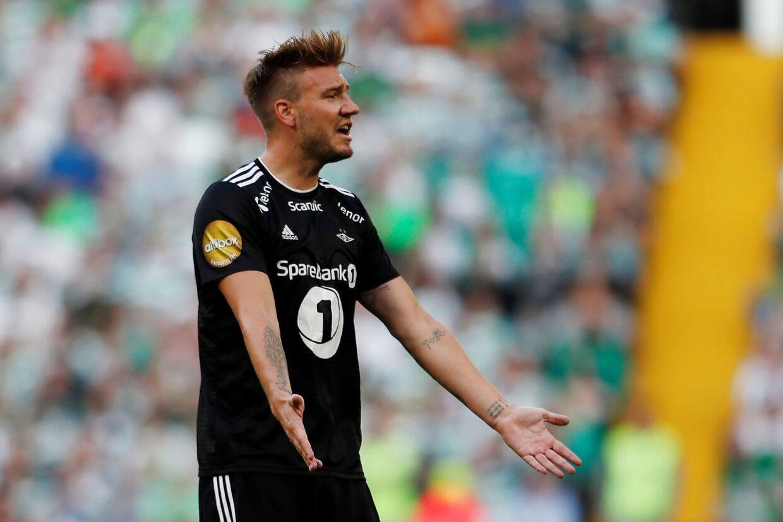 Nicklas Bendtners fremtid i Rosenborg er usikker.