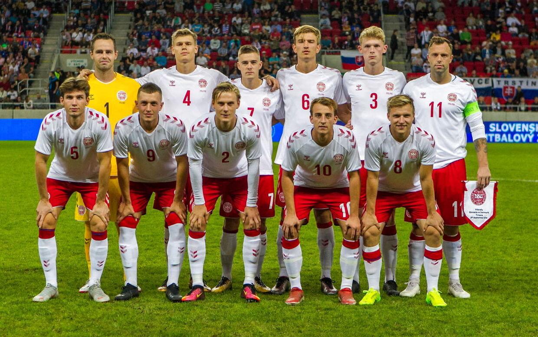 Amatørlandsholdet mod Slovakiet.