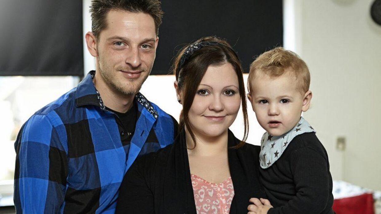 Katherina og Peter med sønnen Alexzander. (Foto: Discovery Networks Danmark/Janus Nielsen)