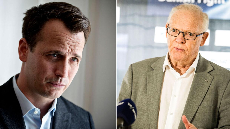 Nisse Sauerland vil lave et stort stævne med Mogens Palle.