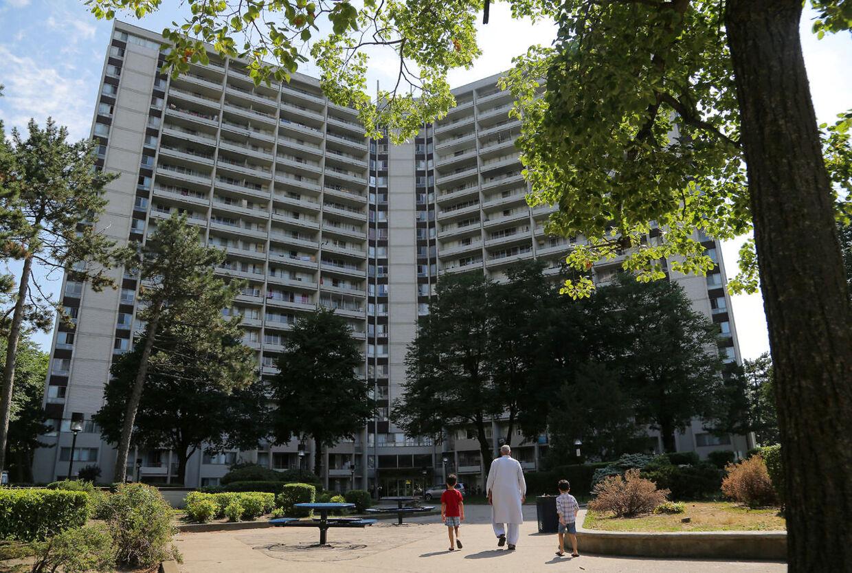 Det uheldige par havde indkvarteret sig i en Airbnb-lejlighed i Toronto.