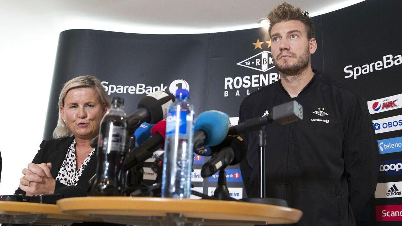 Nicklas Bendtner kom med en udtalelse tirsdag eftermiddag.
