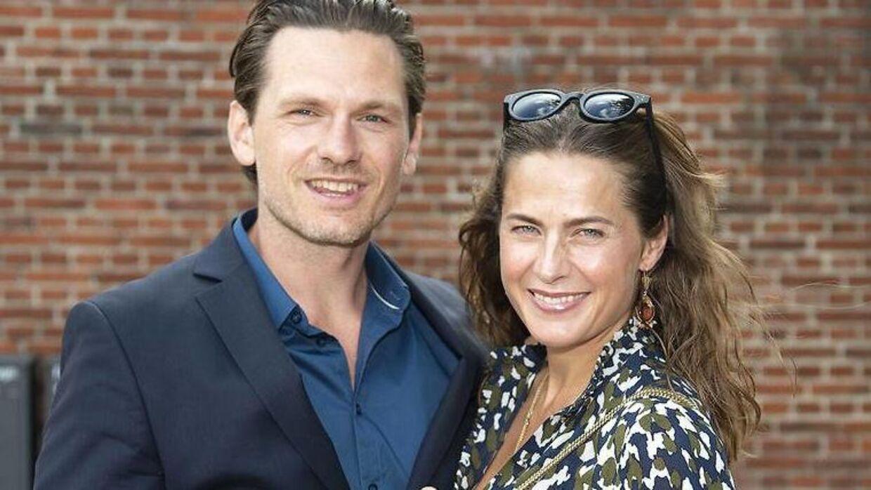 Andrea Elisabeth Rudolph og Claus Møller Jakobsen. Lørdag 18. August 2018