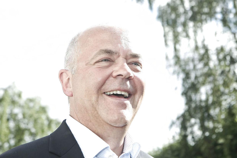 Jes Dorph Petersen fyldte 50 år. Han holder her fest i Kvik Roklub, hvor mange kendte var gæster.