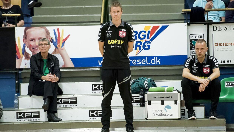 Allan Heine er færdig som træner for Viborg HK.