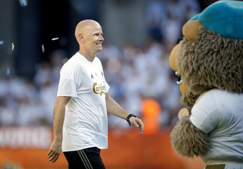 FCK-cheftræner Ståle Solbakken.