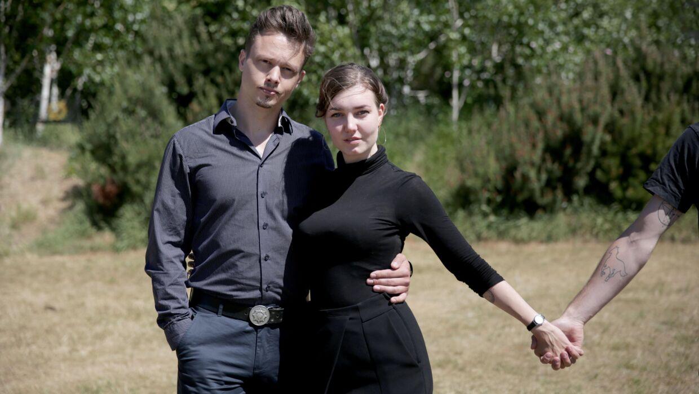 Alex og Malou lever i et åbent forhold. Programmet kan streames på DRs hjemmeside.