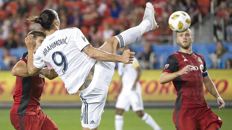 Zlatan Ibrahimovic scorer mod Toronto.
