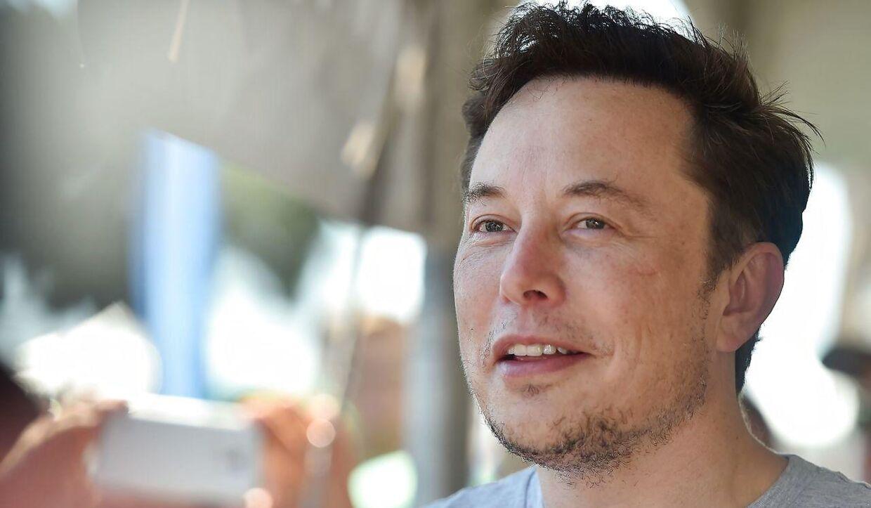 Elon Musk. Billedet her er fra den 22. juli 2018.