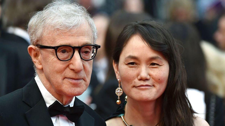 Soon-Yi Previn udtaler sig for første gang i lang tid til New York Magazine om sin mand, Woody Allen, og beskyldningerne mod ham. / AFP PHOTO / ALBERTO PIZZOLI