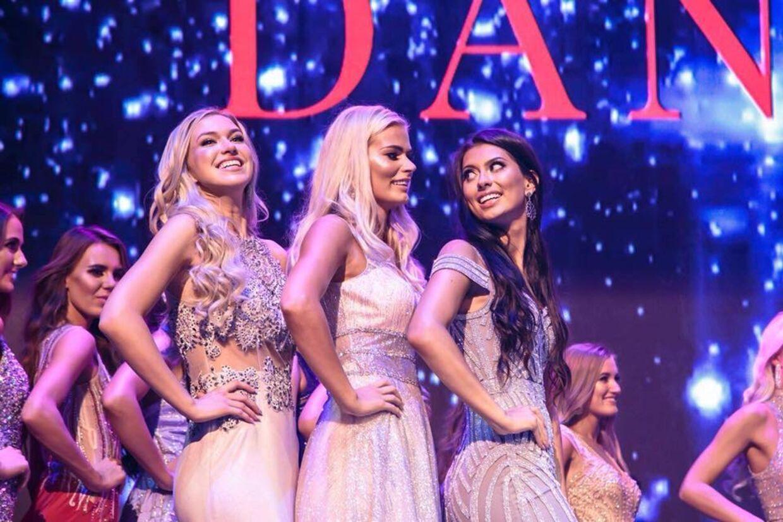 Fra venstre: Louise Arild, Louise Sander Henriksen og Tara Jensen. Foto: Veronica Skotte / Miss Danmark