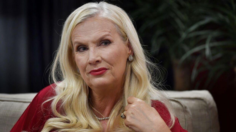 Gunilla Persson, kendt fra 'Svenske Hollywoodfruer'.