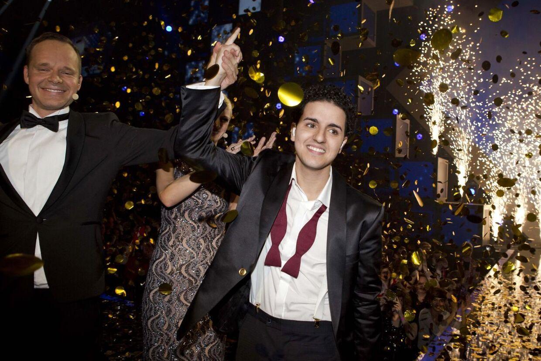 Basim vandt danskMelodi Grand Prix med sangen Cliche Love Song.