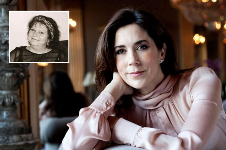 Kronprinsessens Kammerjomfru gennem otte år, Tina Jørgensen, er pludselig død.