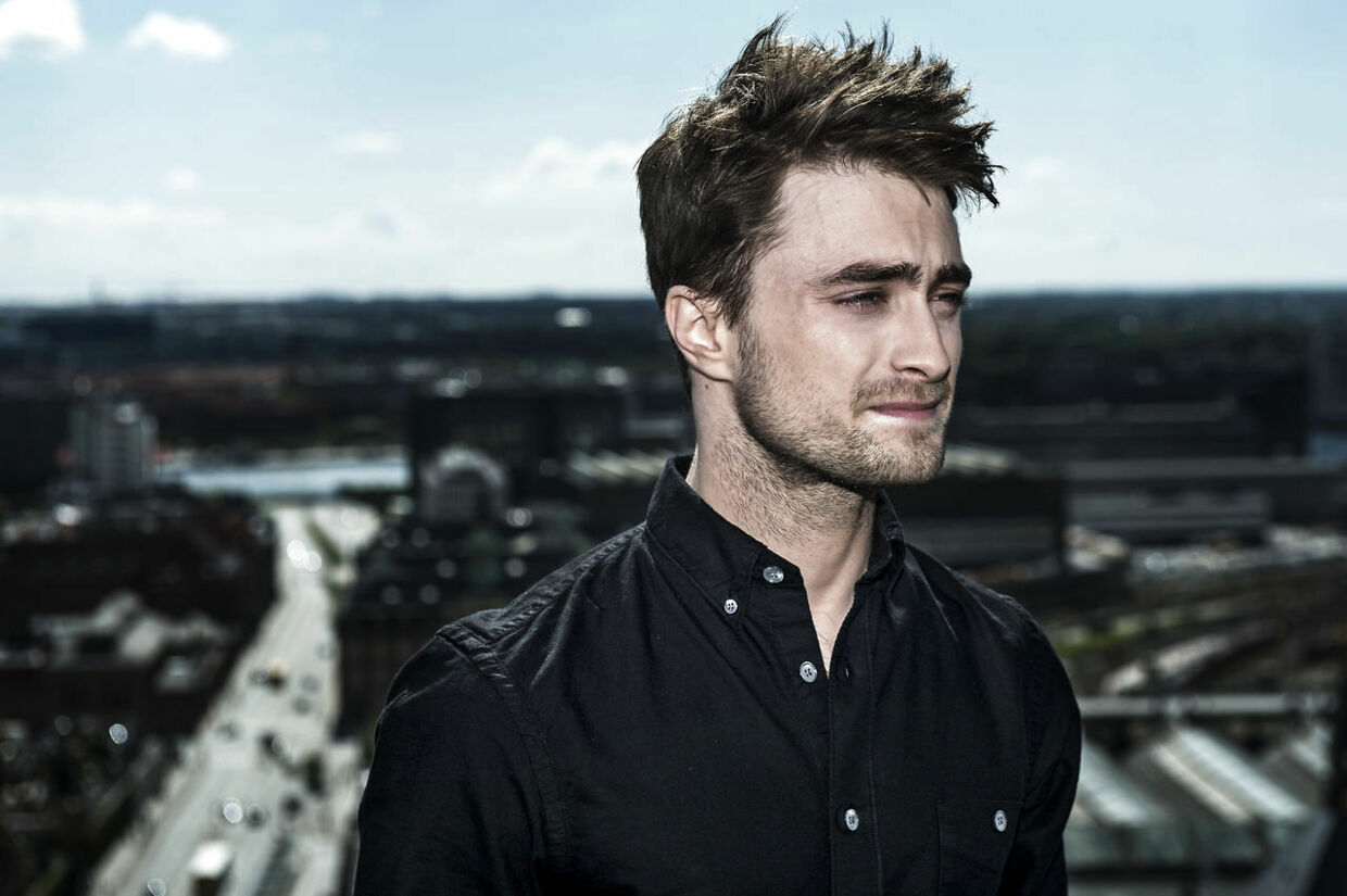Daniel Radcliffe er i byen for at promovere sin nye film.