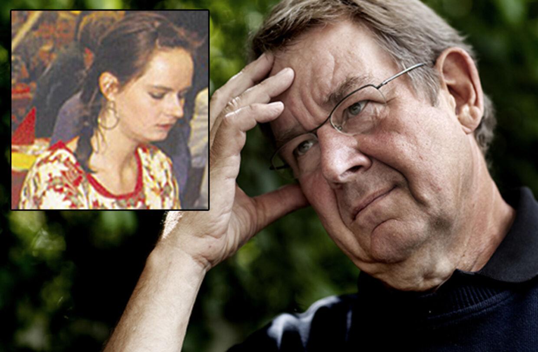 Poul Nyrup Rasmussen mistede sin datter Signe tilbage i 1993, hvor hun valgte at tage sit eget liv. Her er han fotograferet ved sin 50 års fødselsdag i 1993, et par måneder før hendes død (arkivfoto).