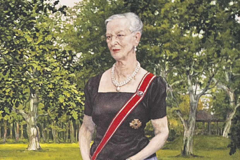 Det er den tidligere kunstoprører og performance-kunstner, Michael Kvium, der står bag det nye portræt af dronning Margrethe.