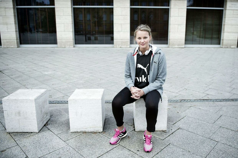 Sandra Toft regnes for en af de bedste keepere ved EM.