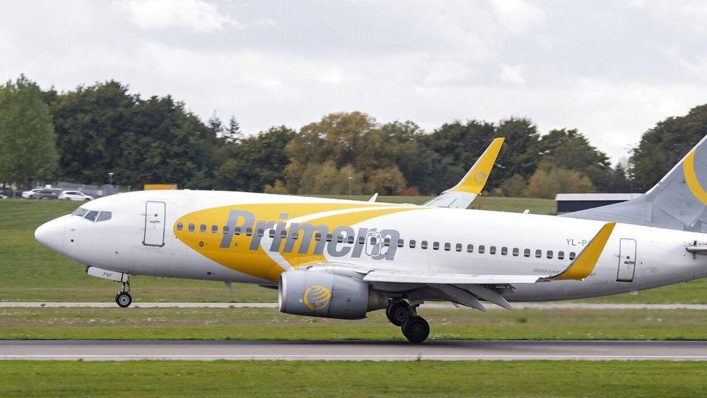 Det islandske flyselskab Primera Air går konkurs.