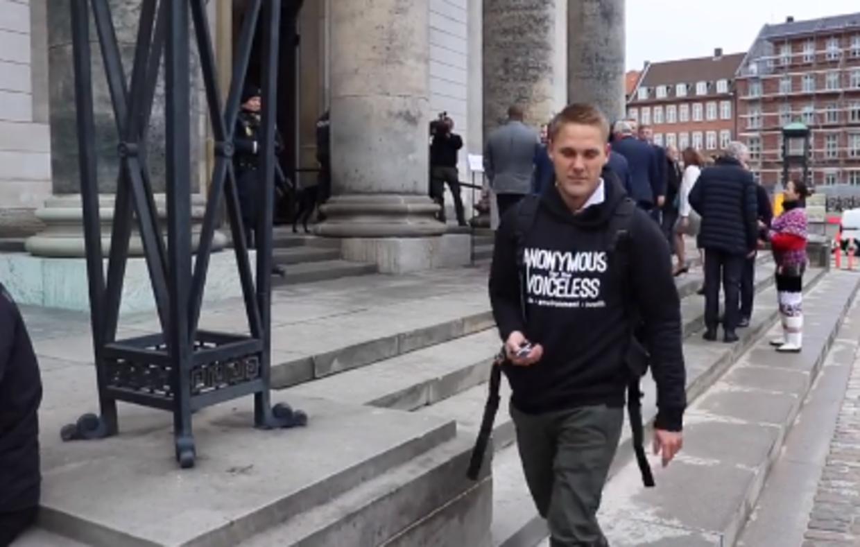 Veganerpartiets medstifter Henrik Vindfeldt var rystet over Miljø- og Fødevareminister Jakob Ellemann-Jensens kommentar.