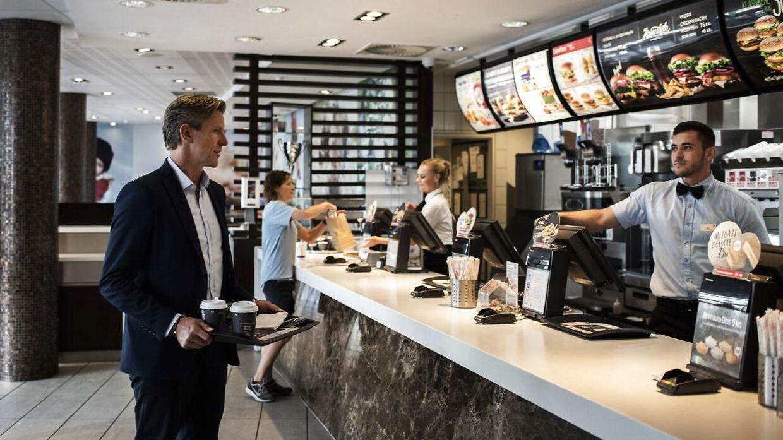 Fra i morgen mandag lancerer McDonald's et helt nyt koncept i Danmark.