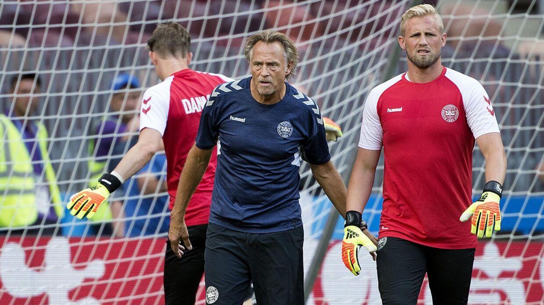 Lars Høgh agerede målmandstræner for landsholdet under VM i sommer, ligesom han har gjort det i de sidste mange år. Efter slutrunden fik han konstateret kræft. Liselotte Sabroe/Ritzau Scanpix