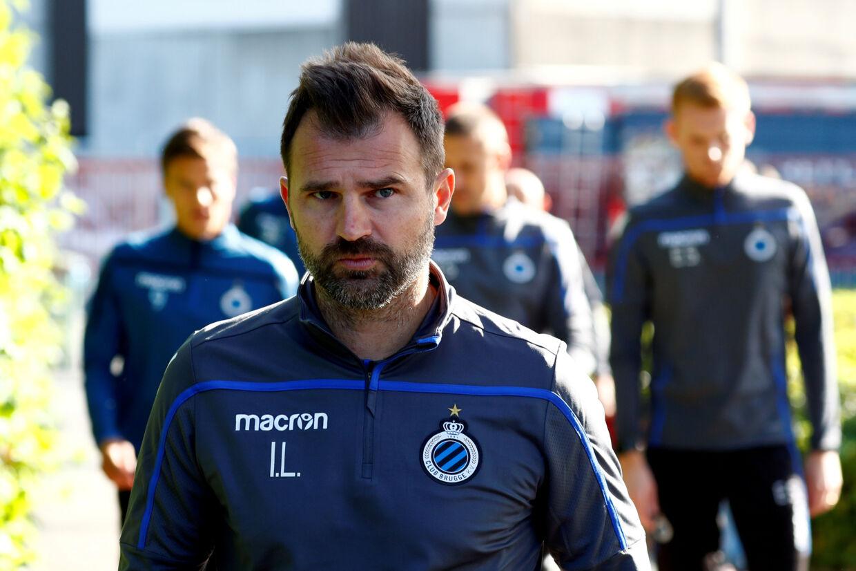 Club Brugges træner, Ivan Leko, skal torsdag afhøres i sag om mulig svindel. Francois Lenoir/arkiv/Reuters