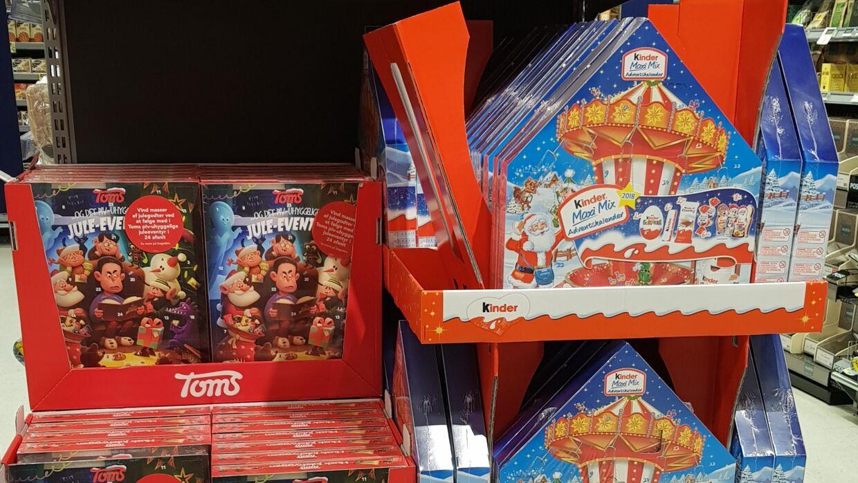 Føtex sælger allerede nu julevarer.