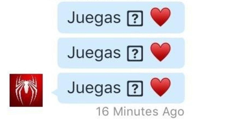 Her er et eksempel på hvordan beskederne ser ud.