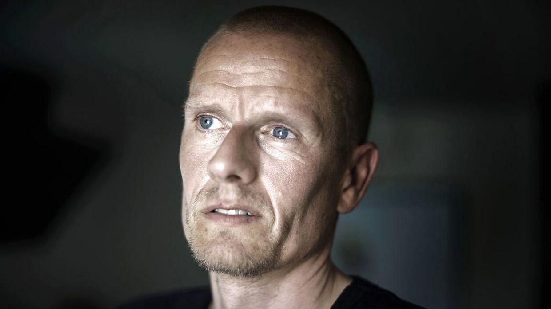 Tidligere cykelrytter Michael Rasmussen ved sit hjem i Holbæk