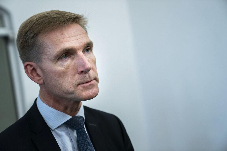 Kristian Thulesen Dahl vil spærre alle udlændingen på tålt ophold inde. (foto: Martin Sylvest/Scanpix Ritzau Scanpix 2018)